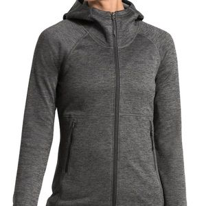 The North Face Heather Gray Agave Hoodie Small
